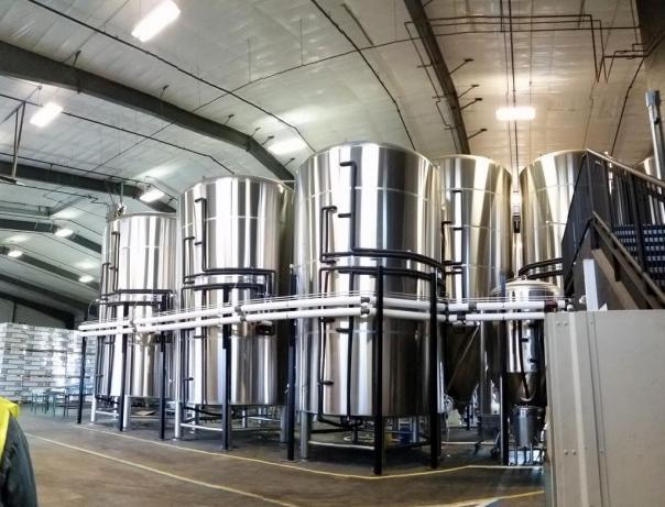 10 Barrel fermenters