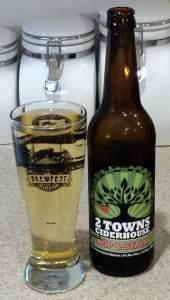 2 Towns Imperial Hop & Stalk cider