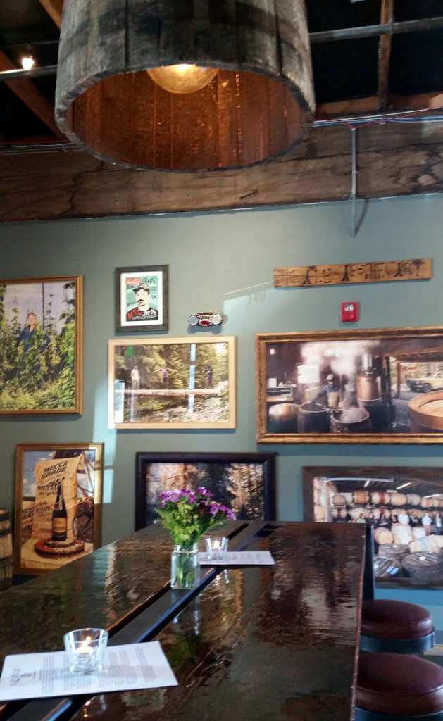 The Ale Apothecary tasting room - artwork
