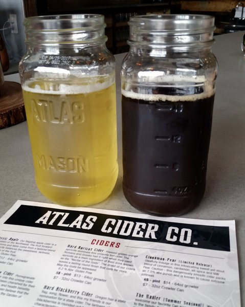 Pints of Atlas Ciders