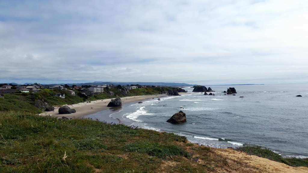 Bandon, Oregon beach