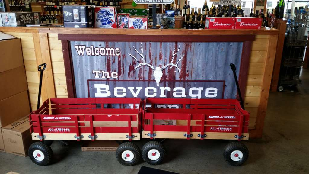 The Beverage Barn wagons