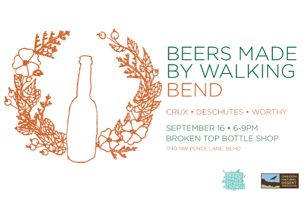 Beers Made By Walking Bend tapping September 16
