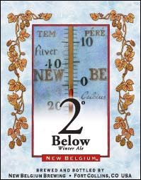 2° Below Winter Ale (label)