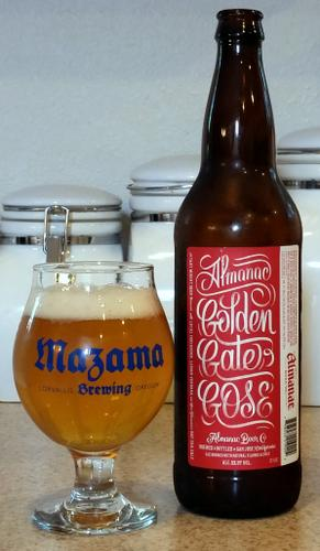 Almanac Beer Golden Gate Gose