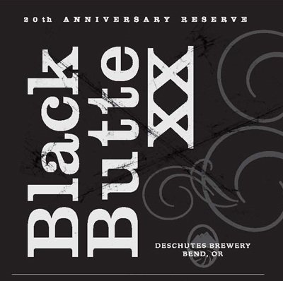 Deschutes Black Butte XX label