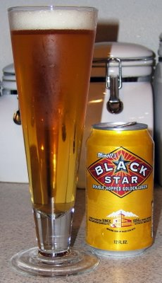 Black Star Beer, canned version
