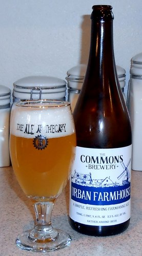 The Commons Brewery Urban Farmhouse Ale