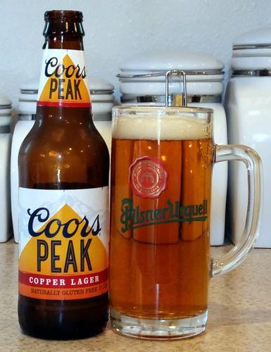 Coors Peak Copper Lager