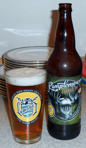 Lompoc Brewing Pamplemousse Citrus IPA