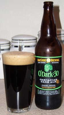 Oakshire O'Dark:30 Cascadian Dark Ale