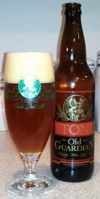 Stone Old Guardian Barleywine