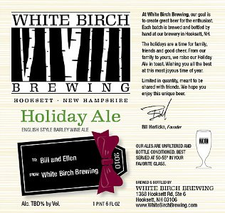 White Birch Holiday Ale