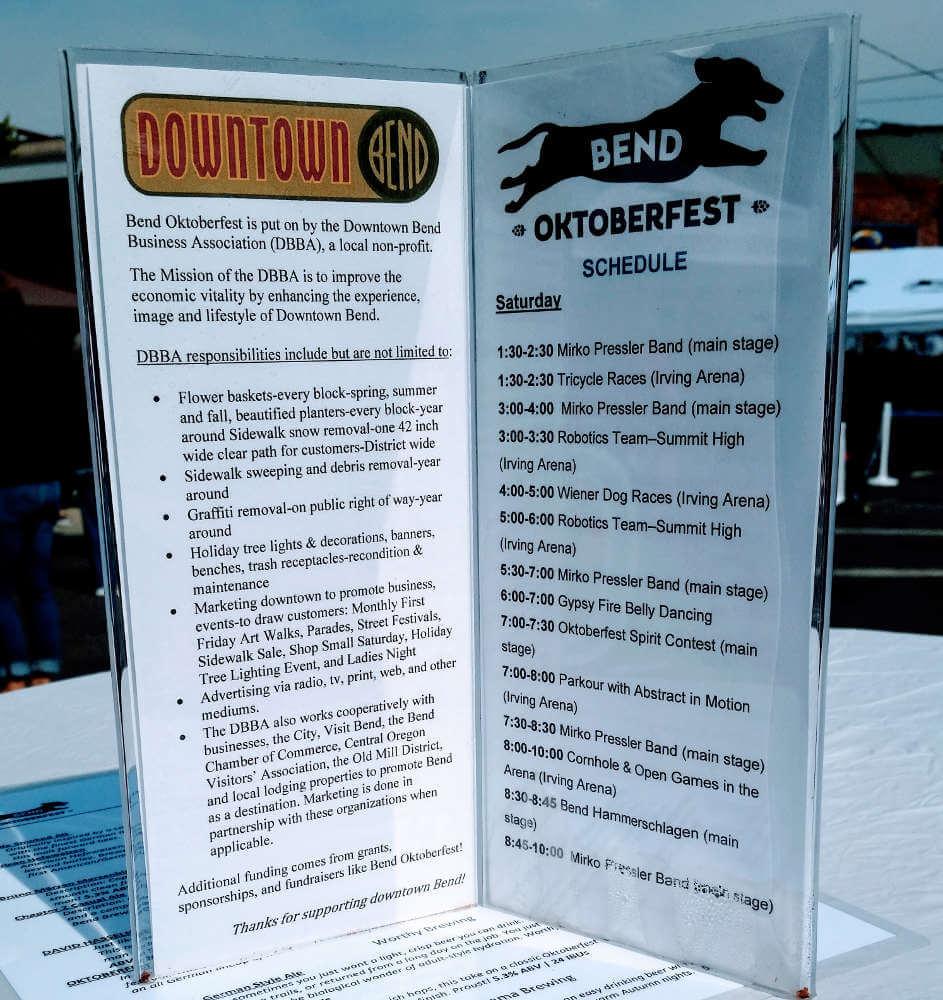 Bend Oktoberfest (about)