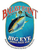 Ballast Point Big Eye IPA label