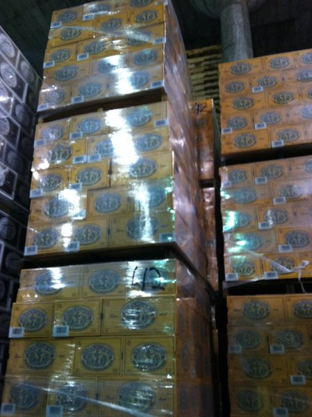 Anchor Steam all boxed up and ready to go