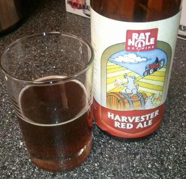Rat Hole Brewing Harvester Red Ale
