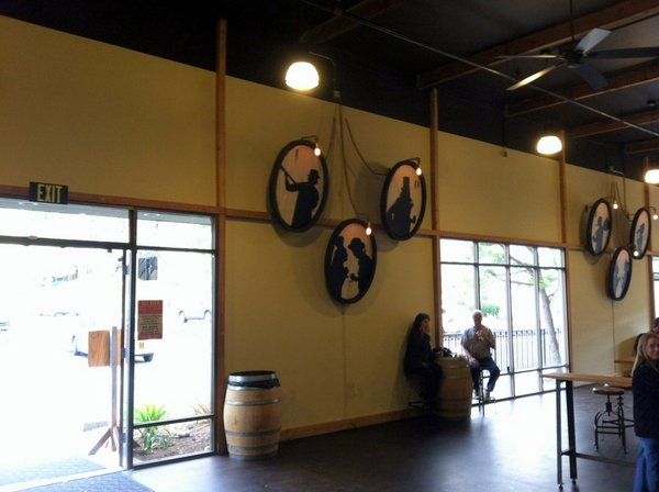 Societe Brewing taproom and art