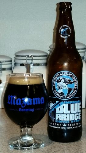 Coronado Brewing Imperial Blue Bridge Coffee Stout