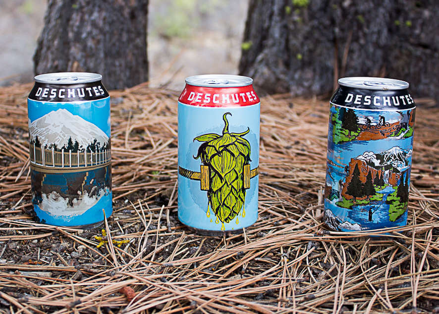 Deschutes Brewery cans
