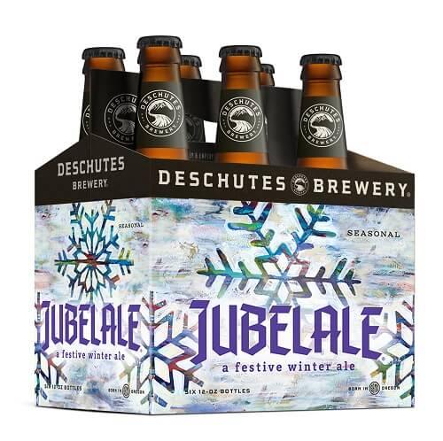 Deschutes Brewery Jubelale 2017 six-pack