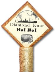 Diamond Knot Ho! Ho! Christmas Ale (tap handle)