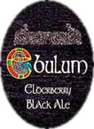 Ebulum Elderberry Black Ale label