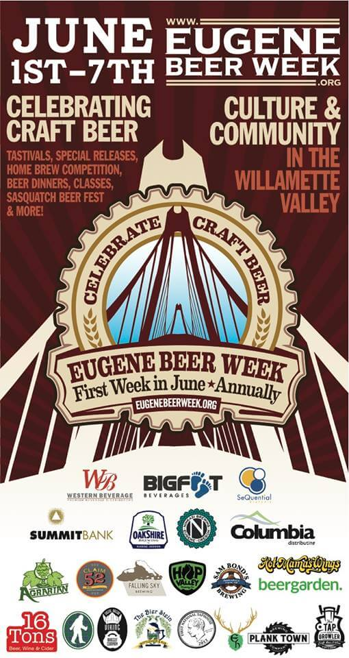 Eugene Beer Week poster