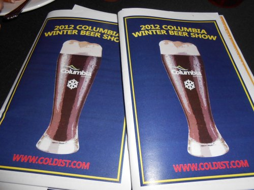 Columbia Distributing Winter Beer Show