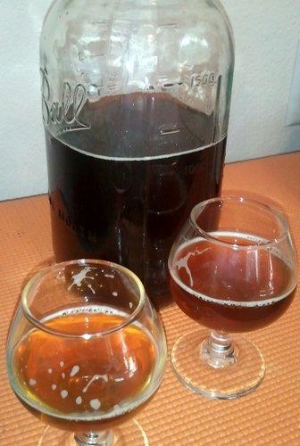 McMenamins Red Rum, Rum Barrel Aged Fireside Red