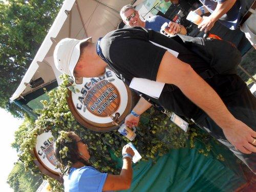 Cascade Summer Gose OBF keg