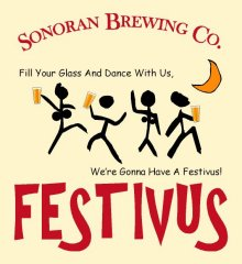 Sonoran Brewing Festivus Ale