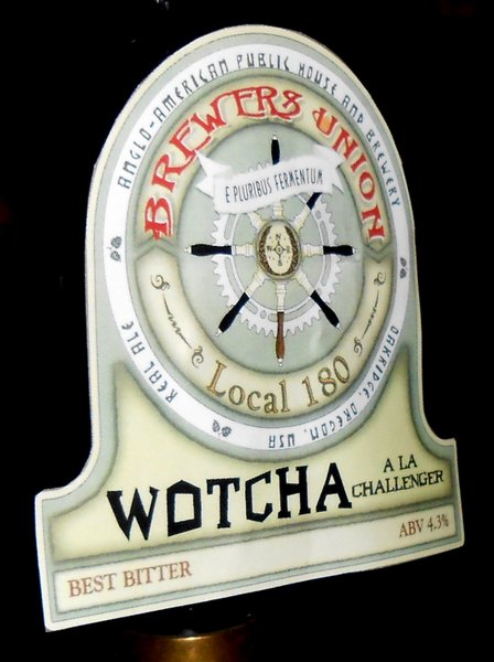 Firkin-A: Wotcha (a la Challenger) from Brewers Union