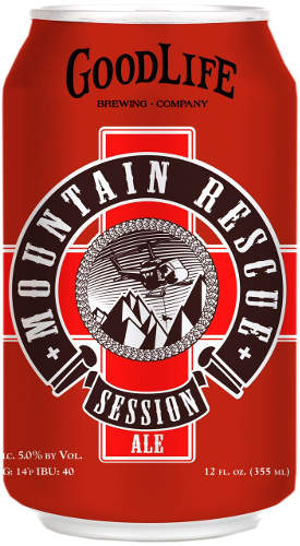 GoodLife Brewing Mountain Rescue Session Ale
