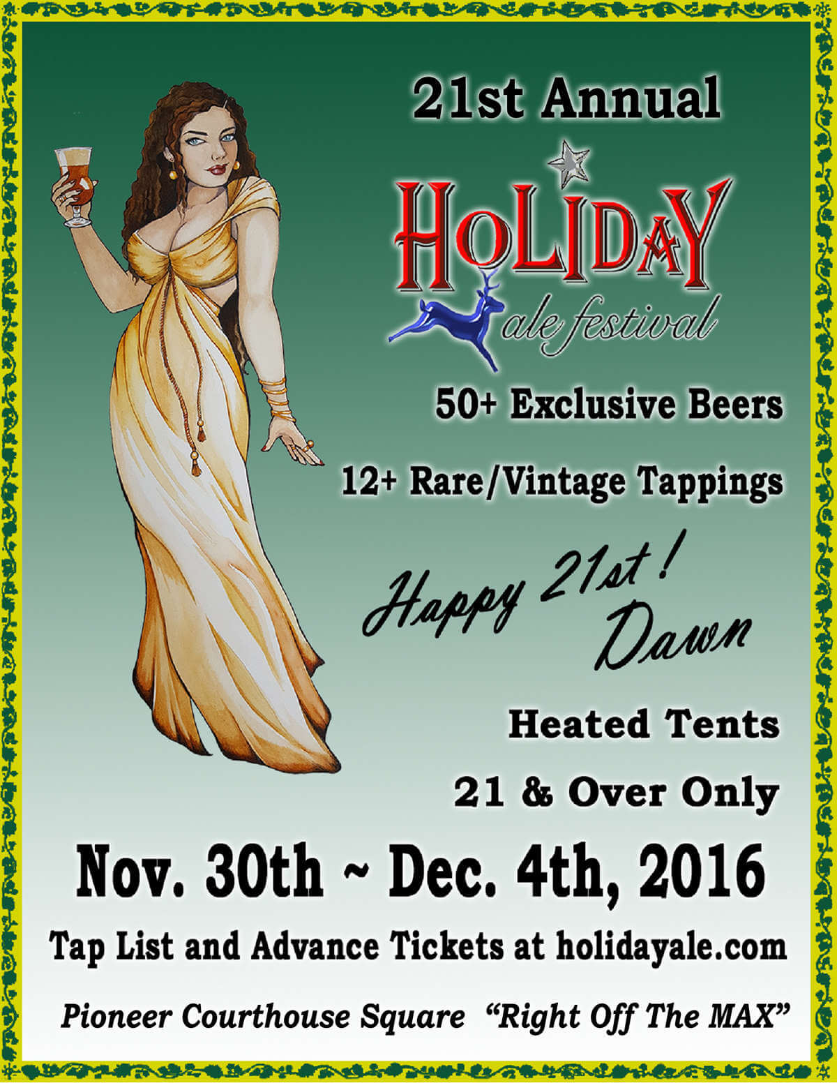 Holiday Ale Festival 2016 flyer