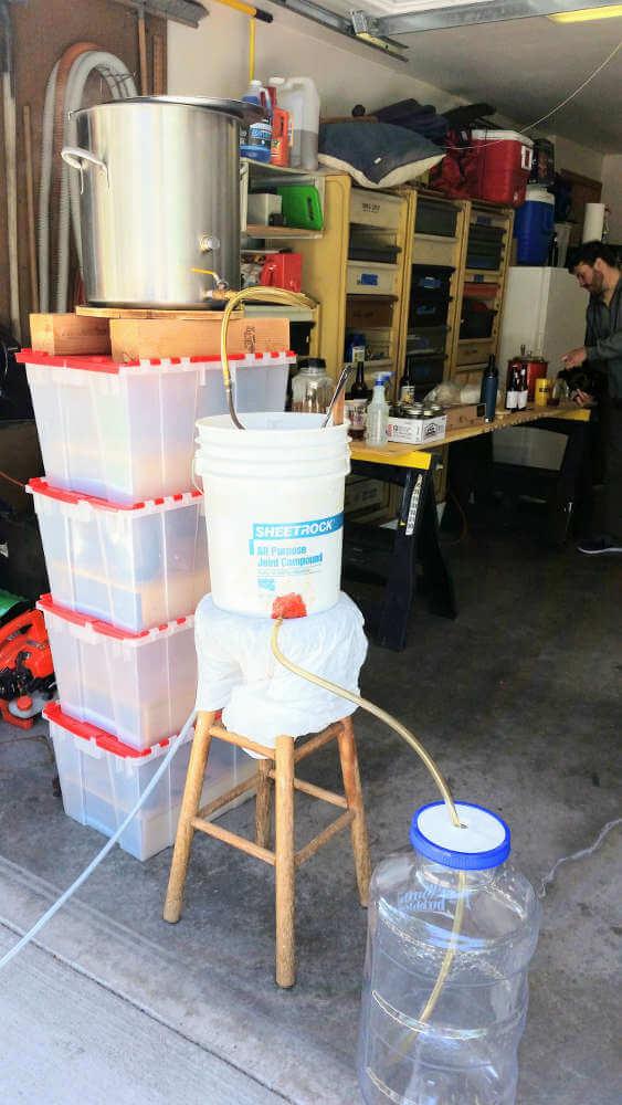 Homebrew Systems: Homemade wort chiller