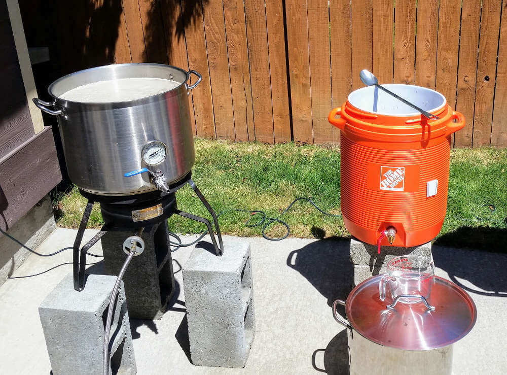 Homebrew systems: my own batch sparge setup