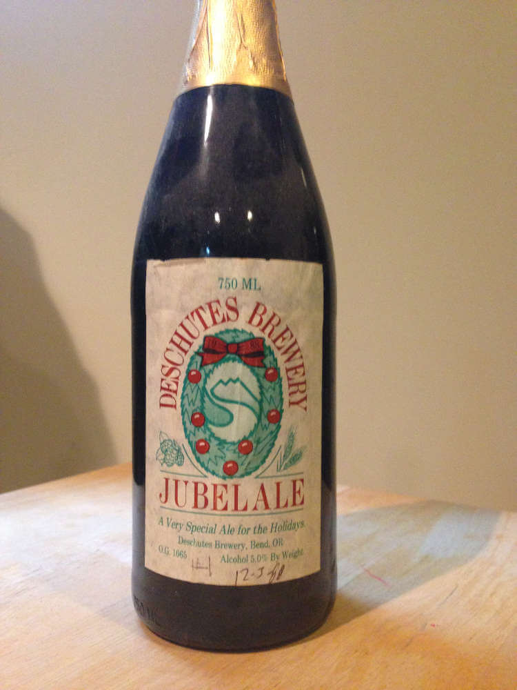 Original bottle of Jubelale, courtesty of John Harris