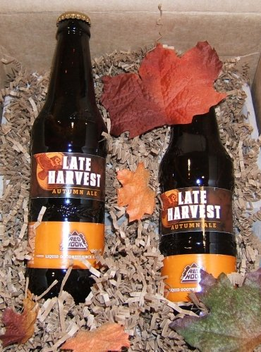 Redhook's Late Harvest Autumn Ale PR package