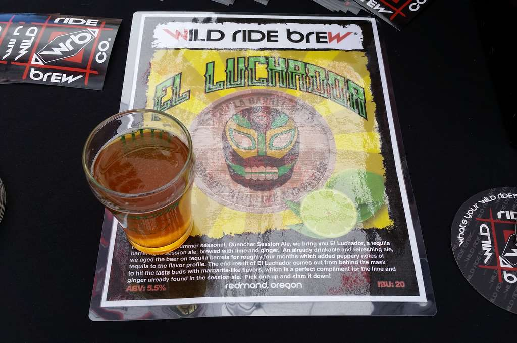Wild Ride El Luchador at The Little Woody