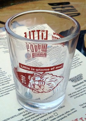 The Little Woody (sample glass)