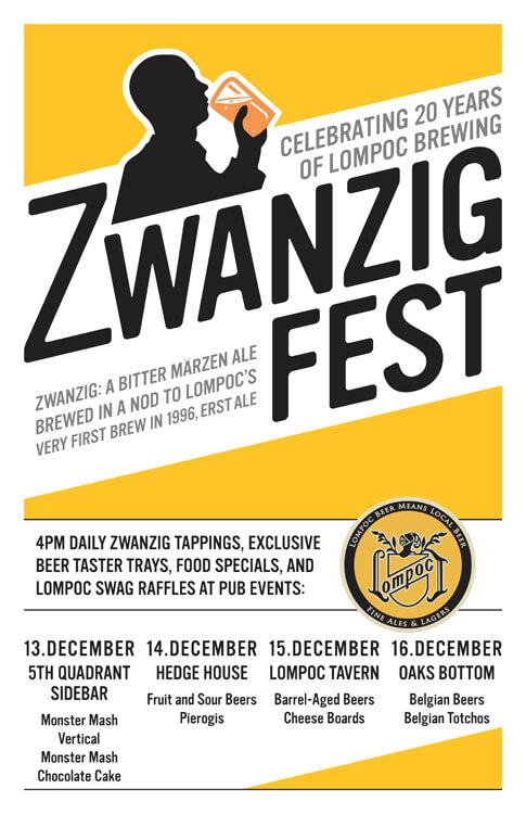 c61ec1d53e Zwanzig Fest: Lompoc Brewing's 20th anniversary - The Brew Site