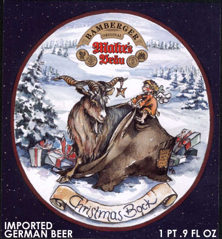 Mahr's Bräu Christmas Bock