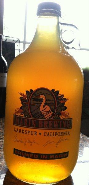 Marin beer!