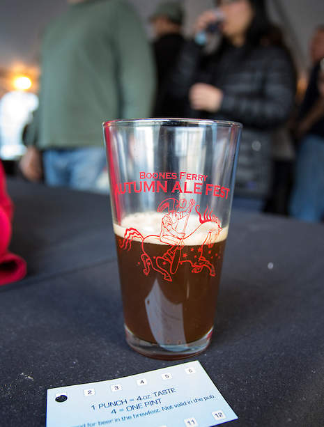 McMenamins Boones Ferry Autumn Ale Fest