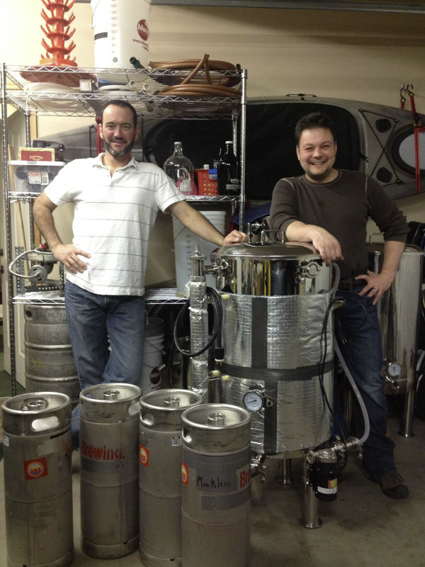 Monkless Belgian Ales founders