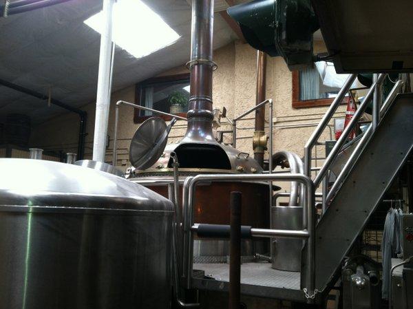 Mt. Shasta Brewing kettle