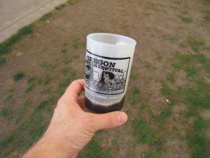 Mug with a taster