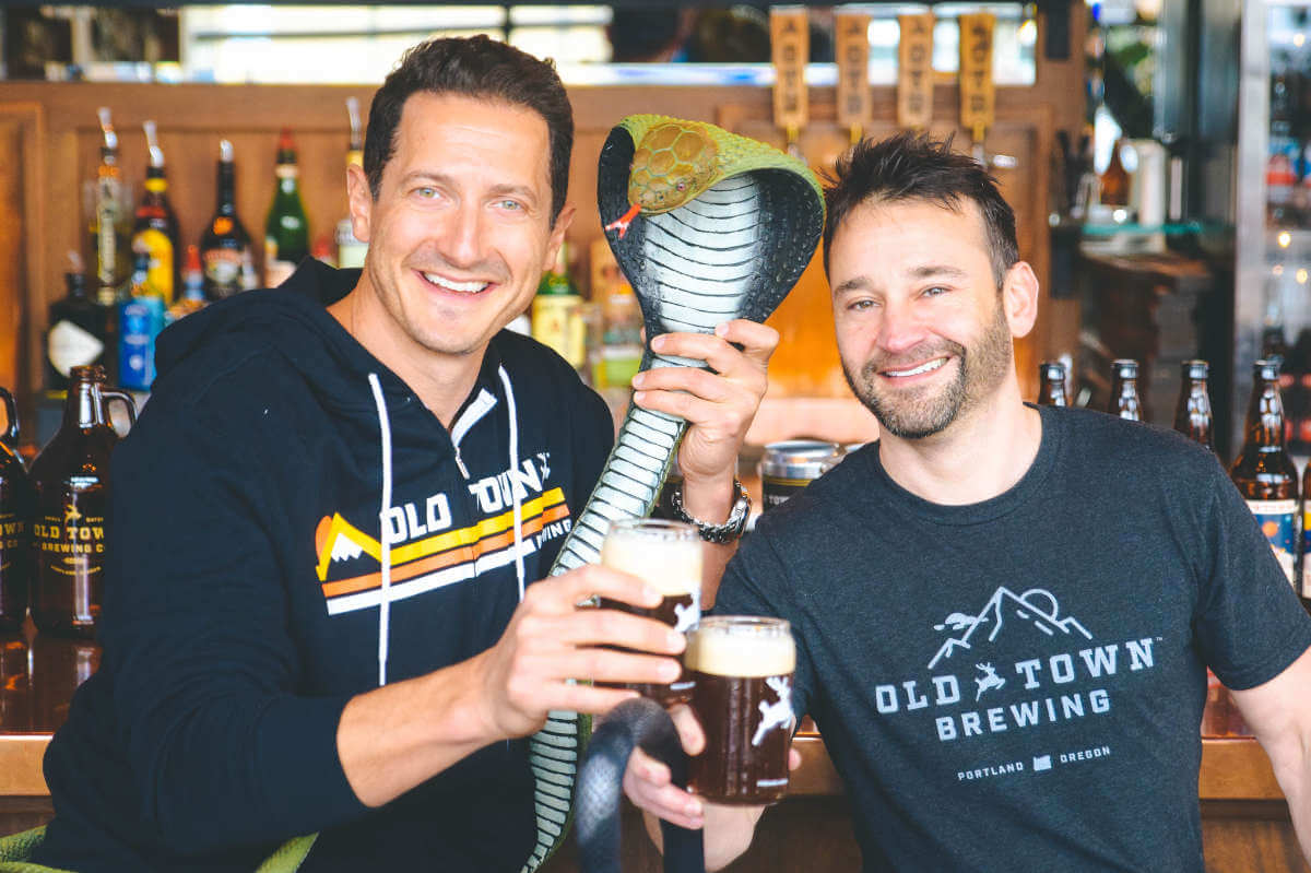 Old Town Brewing and Grimm collaboration