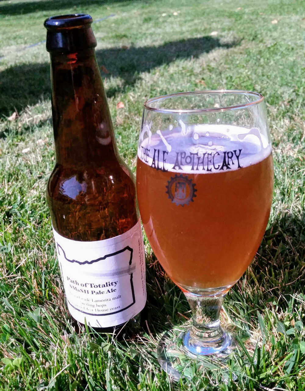Path of Totality SMaSH Pale Ale